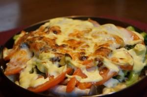 うるめいわしと野菜のオーブン焼きパート1イメージ