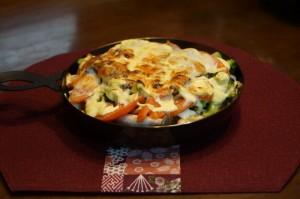 うるめいわしと野菜のオーブン焼きパート2イメージ